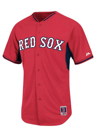 Boston Red Sox Kids Red Batting Practice Baseball Jersey