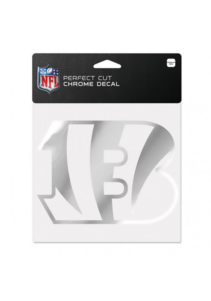 Cincinnati Bengals 6x6 Metallic gB