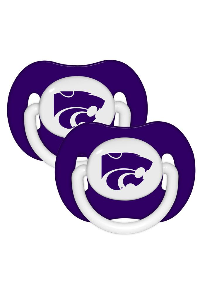 K-State Wildcats 2 Pack Baby Pacifier - Image 1