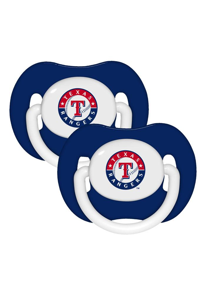 Texas Rangers 2 Pack Baby Pacifier - Image 1