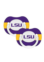 LSU 2 Pack Pacifier