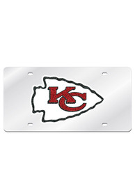 Kansas City Chiefs Glitter Team Logo Car Accessory License Plate