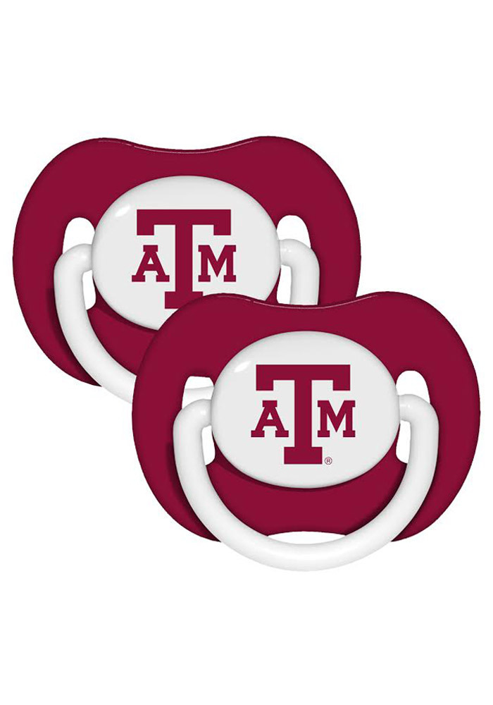 Texas A&M Aggies Baby 2 Pack Pacifier - Maroon
