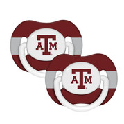 Texas A&M 2 Pack Pacifier