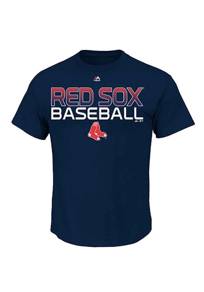 Boston Red Sox Youth Navy Blue Game-Winning Run Short Sleeve T-Shirt - Image 1