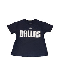 Dallas Mavericks Youth Navy Blue Youth Rally Loud T-Shirt