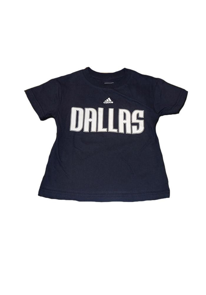 Dallas Mavericks Boys Navy Blue Boys 4-7 Rally Loud Short Sleeve T-Shirt - Image 1