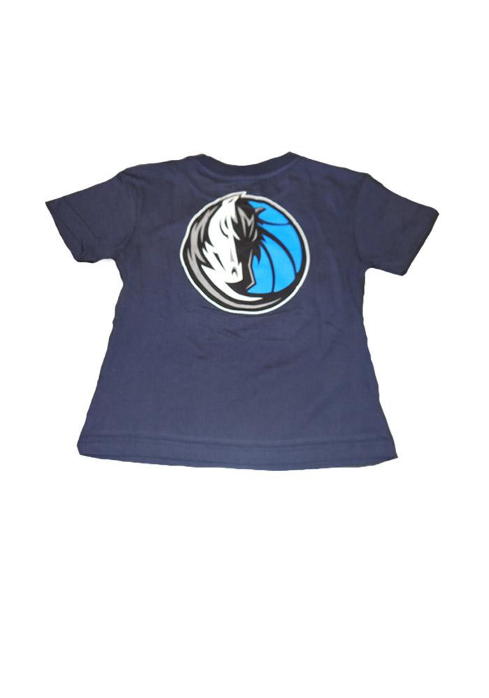 Dallas Mavericks Boys Navy Blue Boys 4-7 Rally Loud Short Sleeve T-Shirt - Image 2