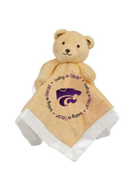 K-State Wildcats Baby Security Bear Blanket - Brown