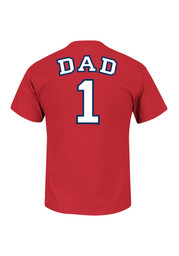 Majestic St Louis Cardinals Red #1 Dad Tee