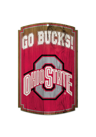 Ohio State Buckeyes Wood Sign