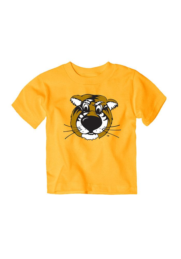 Missouri Tigers Baby T-Shirt Gold Truman Short Sleeve Tee - Image 1
