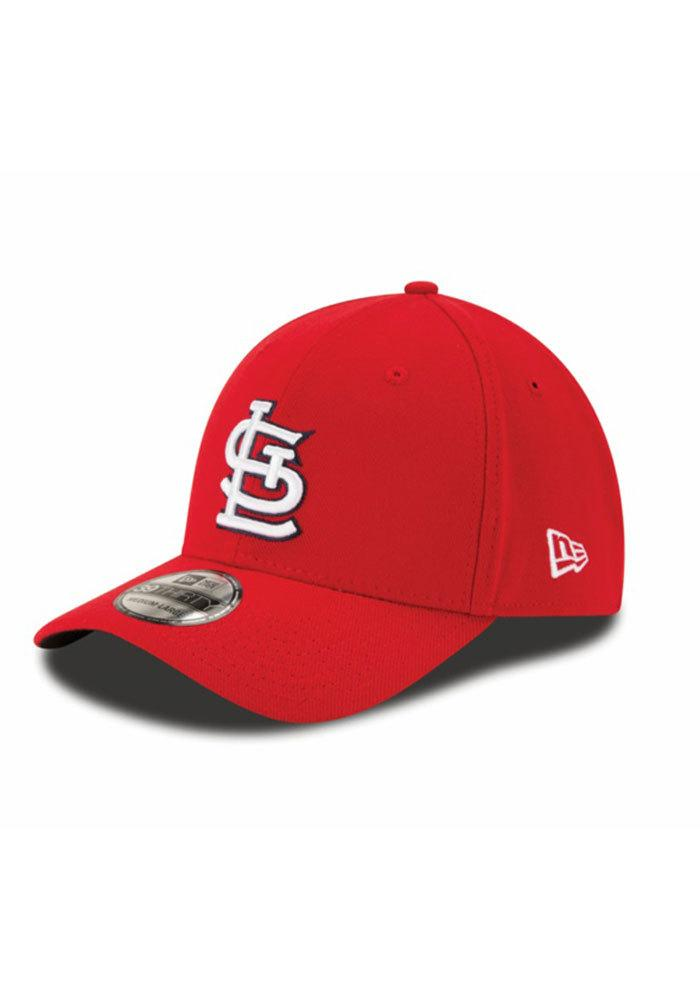 New Era St Louis Cardinals Mens Red Game Team Classic Flex Hat - Image 1