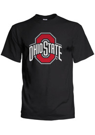 wholesale dealer ff538 8a04d Ohio State Buckeyes Black Logo Tee