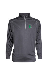 Eastern Michigan Eagles Mesh 1/4 Zip Pullover - Grey