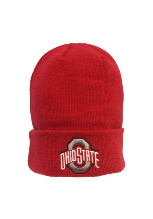 Ohio State Buckeyes Red Overtime Cuff Knit Hat