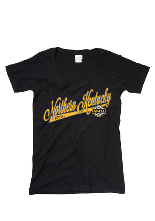 Northern Kentucky Norse Womens Black Scoop