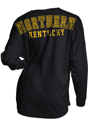 Northern Kentucky Norse Womens Game Day Jersey Black LS Tee