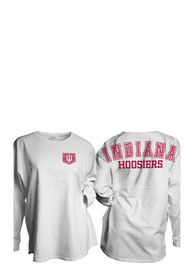 Indiana Hoosiers Womens Gameday White LS Tee