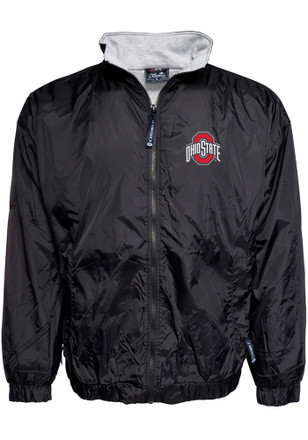 Ohio State Buckeyes Mens Black Victory Light Weight Jacket
