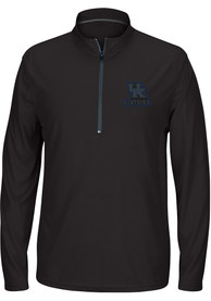 sports shoes d4bc4 2ae70 Top of the World Kentucky Wildcats Black Route Runner 1/4 Zip Pullover