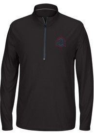 Ohio State Buckeyes Top of the World Route Runner 1/4 Zip Pullover - Black