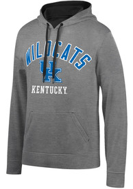 Kentucky Wildcats Number One Design Embroidery Hood - Charcoal