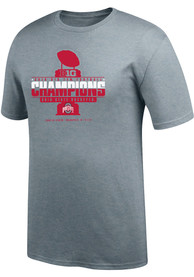 Ohio State Buckeyes Top of the World 2019 Big Ten Conference Champions T Shirt - Grey