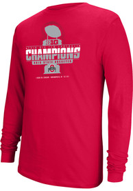 Ohio State Buckeyes Top of the World 2019 Big Ten Conference Champions T Shirt - Red