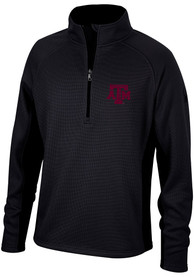 Texas A&M Aggies Spyder Constant Sweater 1/4 Zip Pullover - Black