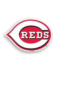 Cincinnati Reds 12 Inch Logo Car Magnet - Red