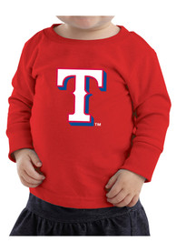 Texas Rangers Baby Red Logo T-Shirt