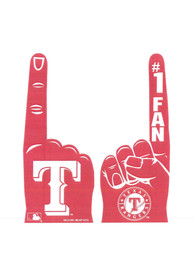 Texas Rangers #1 Fan Foam Finger