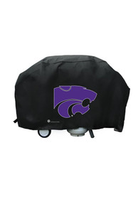 K-State Wildcats 68in Black BBQ Grill Cover