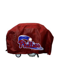 Philadelphia Phillies 68in Red BBQ Grill Cover