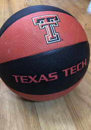 Texas Tech Red Raiders Deluxe Rubber Basketball