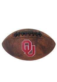 Oklahoma Sooners Mini Vintage Football