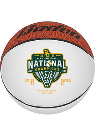 Baylor Bears Mini 2021 NCAA National Champions Autograph Basketball