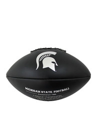 Michigan State Spartans Official Team Logo Autograph Football