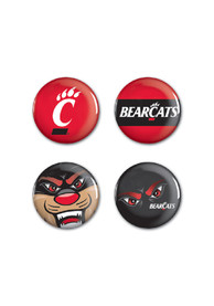 Cincinnati Bearcats 4 Pack Button