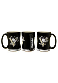 Pittsburgh Penguins 15oz Sculpted Relief Mug