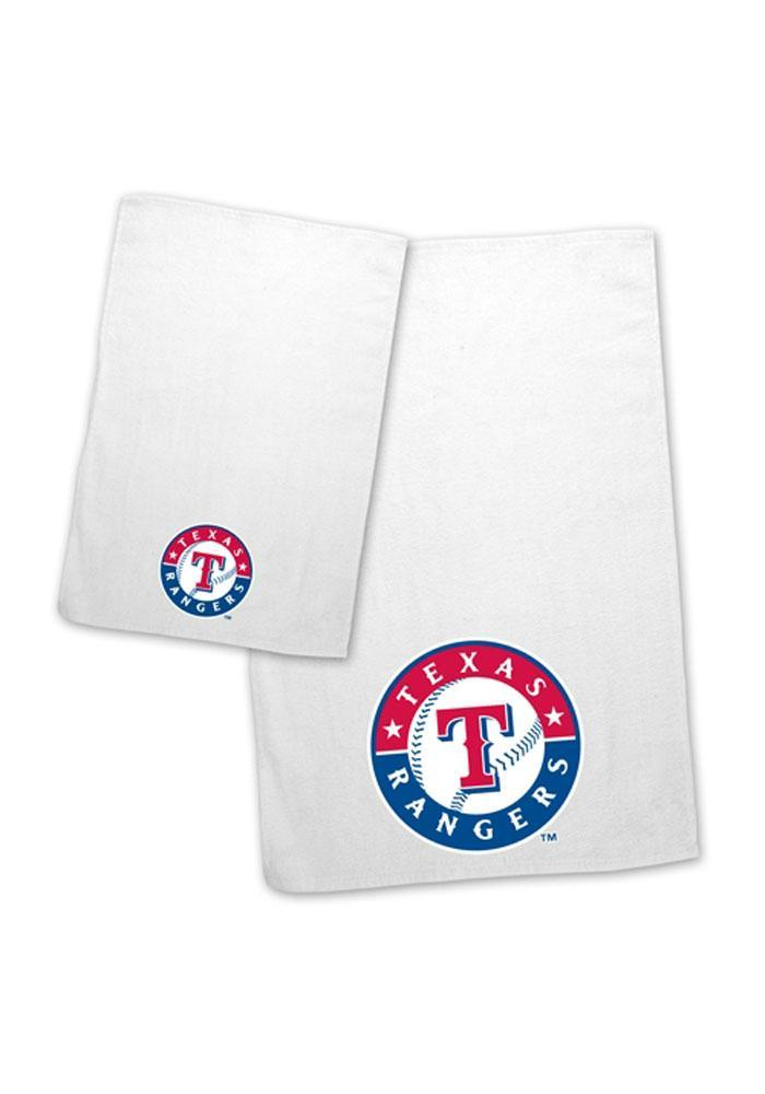 Texas Rangers 16`x25` and 11`x18` Towel - Image 1