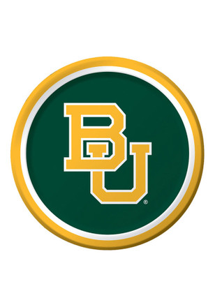 Baylor Bears 8 Pack 9 Inch Paper Plates