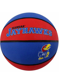 Kansas Jayhawks Rubber Basketball