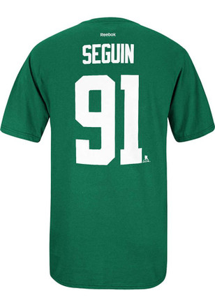 Tyler Seguin Dallas Stars Mens Green Player Player Tee