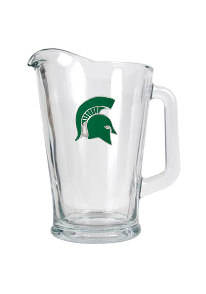 Michigan State Spartans 64oz Glass Pitcher - Image 1