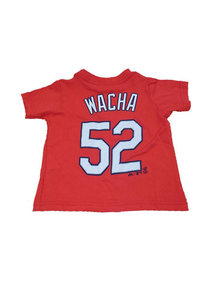 Michael Wacha St Louis Cardinals Red Infant Wacha T-Shirt Red - Image 2