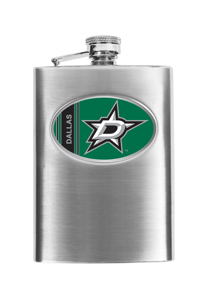 Dallas Stars 8oz Stainless Steel Flask - Image 1