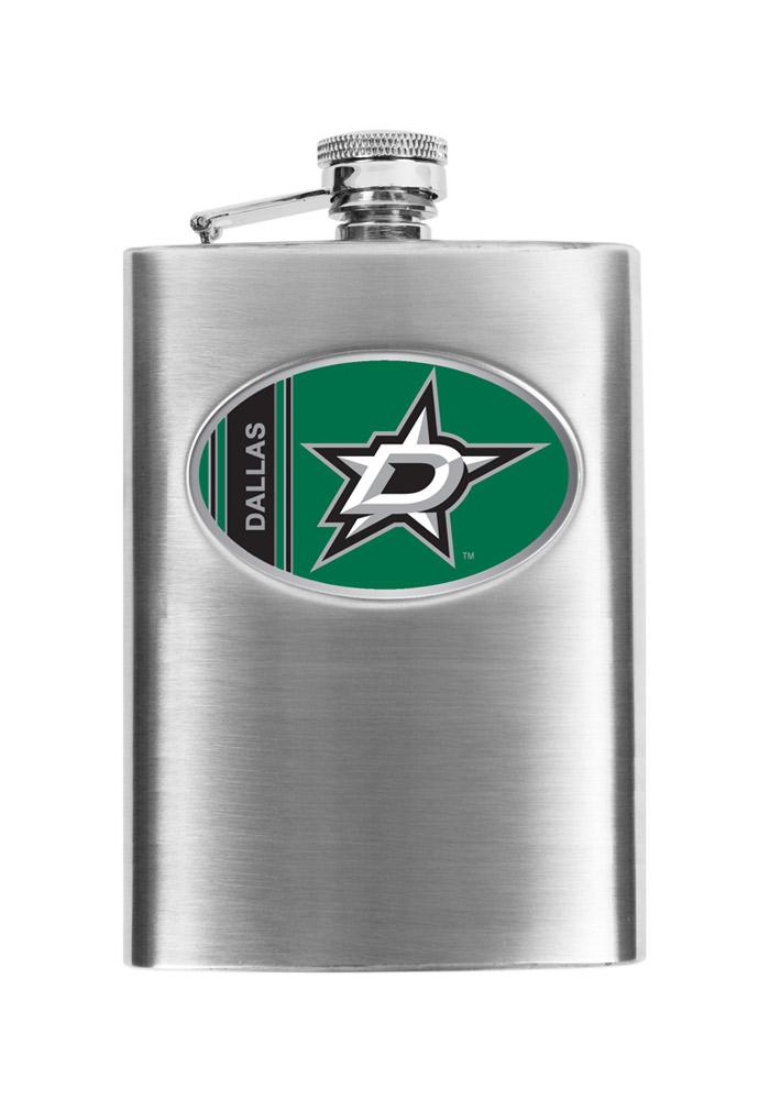 Dallas Stars 8oz Stainless Steel Flask - Image 2