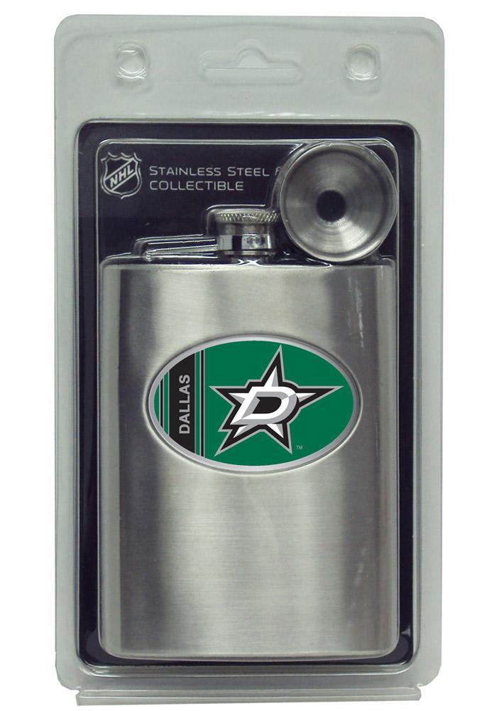 Dallas Stars 8oz Stainless Steel Flask - Image 3